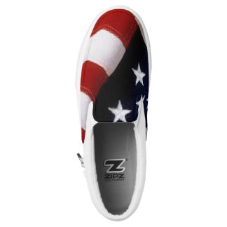 American Flag Shoes-slipon Slip-On Sneakers