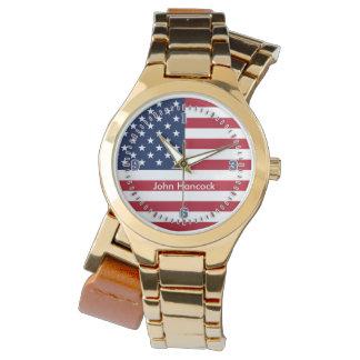 American Flag Signature Watch