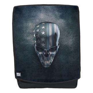 American Flag Skull Boldface Backpack