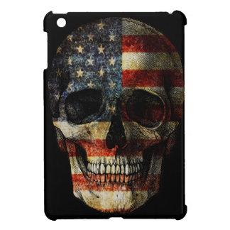 American flag skull iPad mini case
