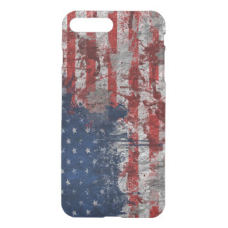 American flag spot iPhone 7 plus case