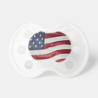 American Flag,Star Spangled Banner red white blue Baby Pacifier