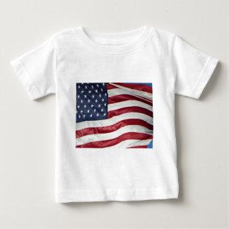 American Flag,Star Spangled Banner red white blue Baby T-Shirt