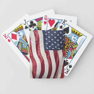 American Flag,Star Spangled Banner red white blue Bicycle Playing Cards