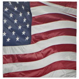 American Flag,Star Spangled Banner red white blue Napkin
