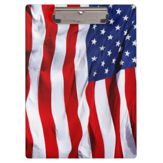 American Flag Stars and Stripe Clipboard