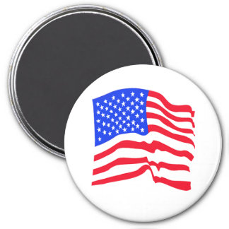 American Flag Stars And Stripes Magnet