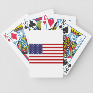 American Flag - Stars and Stripes - Old Glory Bicycle Playing Cards