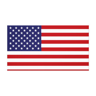American Flag - Stars and Stripes - Old Glory Canvas Print