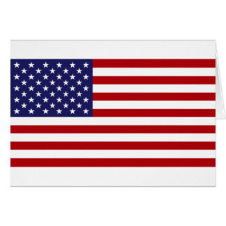 American Flag - Stars and Stripes - Old Glory Card
