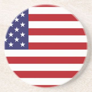 American Flag - Stars and Stripes - Old Glory Coaster