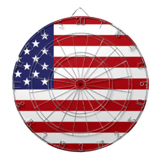 American Flag - Stars and Stripes - Old Glory Dartboard