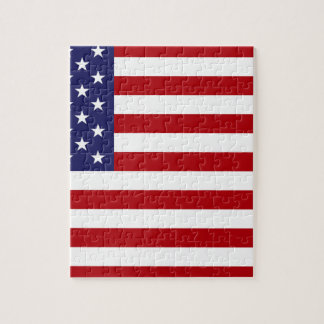 American Flag - Stars and Stripes - Old Glory Jigsaw Puzzle
