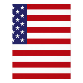 American Flag - Stars and Stripes - Old Glory Letterhead