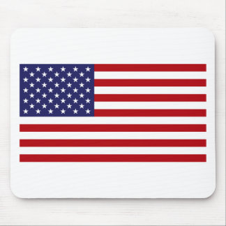 American Flag - Stars and Stripes - Old Glory Mouse Pad