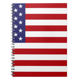 American Flag - Stars and Stripes - Old Glory Notebook