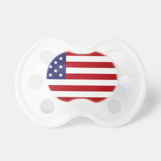 American Flag - Stars and Stripes - Old Glory Pacifier