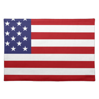 American Flag - Stars and Stripes - Old Glory Placemat