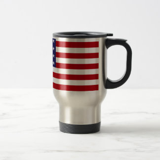 American Flag - Stars and Stripes - Old Glory Travel Mug