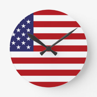 American Flag - Stars and Stripes - Old Glory Wall Clock