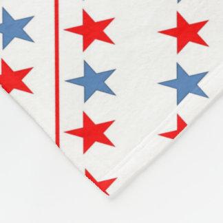 american-flag-stars-background fleece blanket