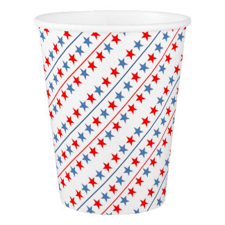 american-flag-stars-background paper cup