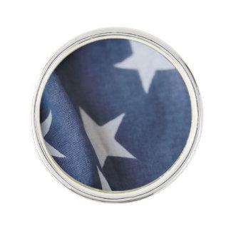 American flag stars lapel pin
