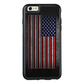 American Flag Stone Texture OtterBox iPhone 6/6s Plus Case