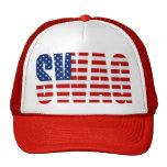 American Flag SWAG Red Mesh Snapback Trucker Hat