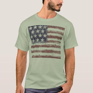 AMERICAN FLAG T SHIRT,UNITED STATES OF AMERICA, T-Shirt
