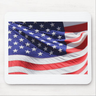 American-flag-Template Mouse Pad