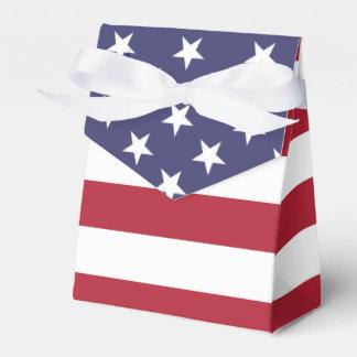 American Flag - Tent Favor Box