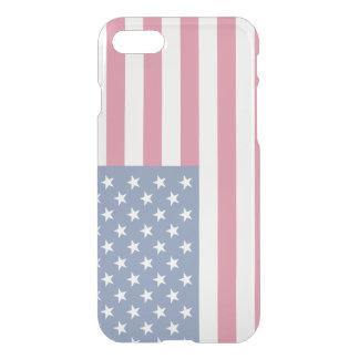 American Flag Transparent iPhone 7 Case