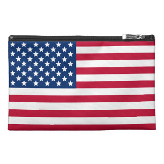 American Flag Travel Accessories Bags