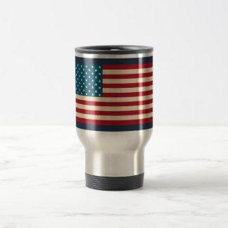 American Flag Travel Coffee Mug Gift