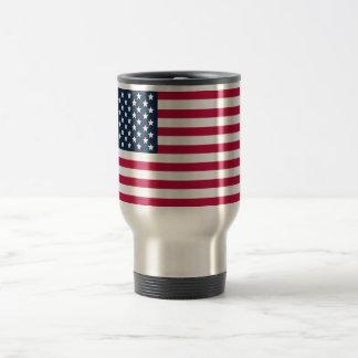 American Flag Travel/Commuter Mug
