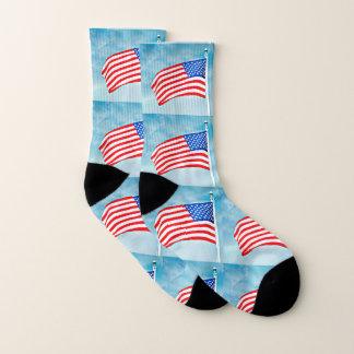 American Flag Unisex Socks 1