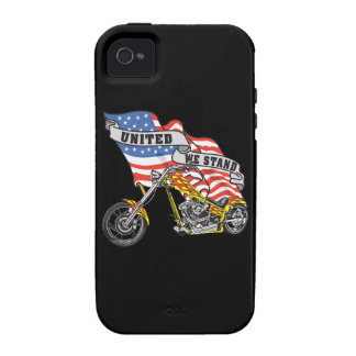 American Flag United Stand Motorcycle iPhone4 Case Vibe iPhone 4 Covers