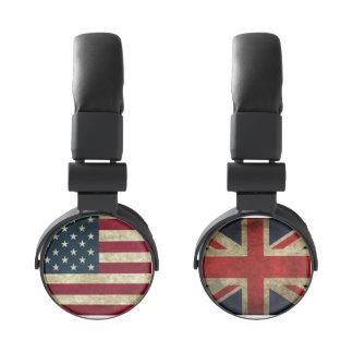 American Flag United States United Kingdom UK Flag