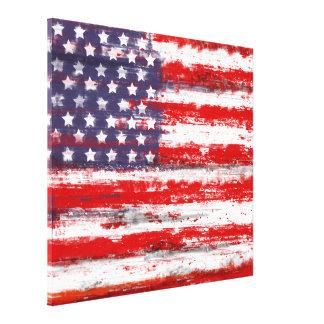 American flag,usa flag canvas print