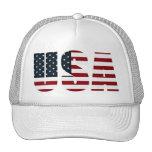 american flag - usa mesh hats