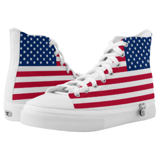 American Flag USA Pride High Tops