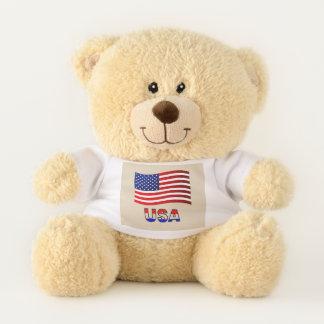American Flag USA Teddy Bear