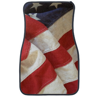 American flag view car liners