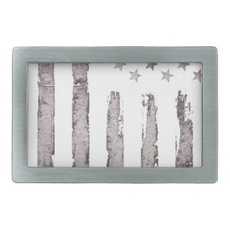 American flag Vintage Grey Belt Buckle