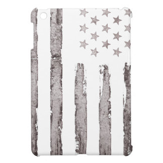 American flag Vintage Grey iPad Mini Cases