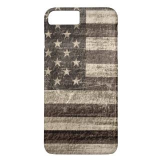 American Flag Vintage iPhone 7 Plus Case