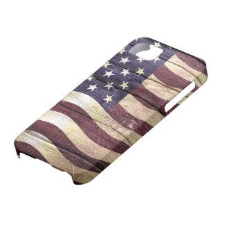 American Flag Vintage Wood #2 iPhone 5 Covers