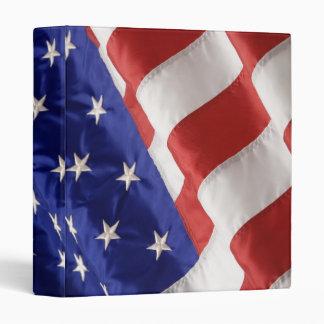 American Flag Vinyl Binder