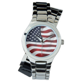 American Flag Watches